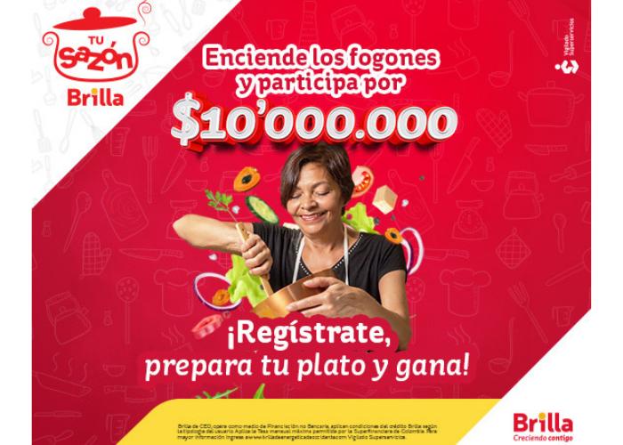 Si te gusta cocinar, esta es tu oportunidad de Brillar y ganarte $10.000.000 en efectivo
